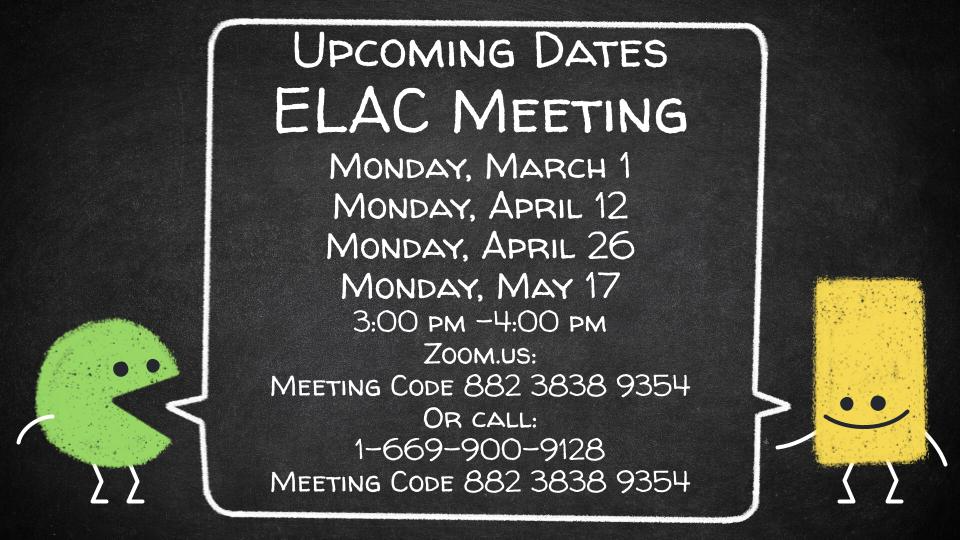 ELAC Meetings