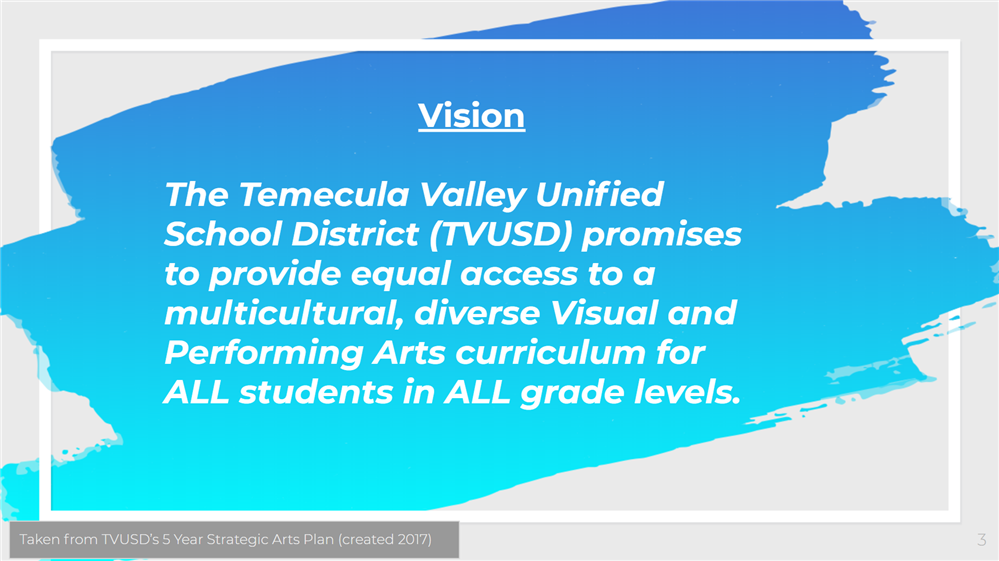 The Vision of TVUSD