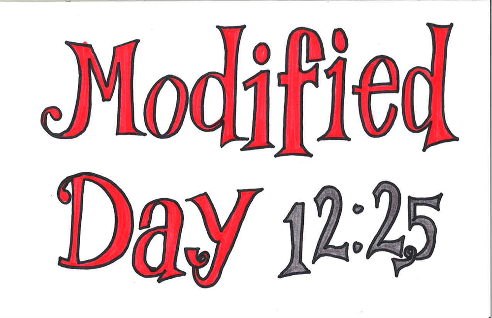 Modified Day 12/20