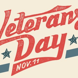VETERAN'S DAY HOLIDAY NO SCHOOL 11-11