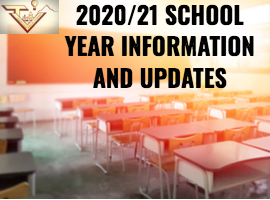 2021 school year updates in classroom