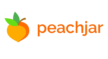 Peach with Peachjar word next to it