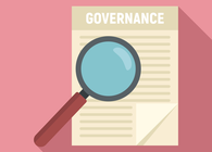 governance with a magnifying glass
