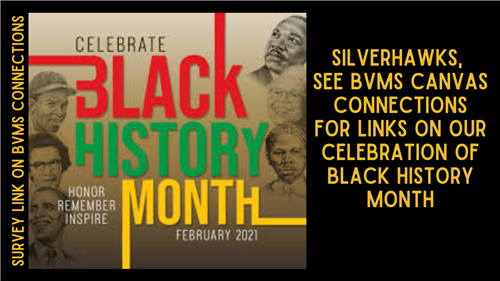 see canvas for BHM activities