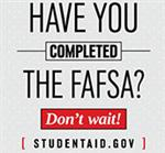 have you completed the FAFSA image