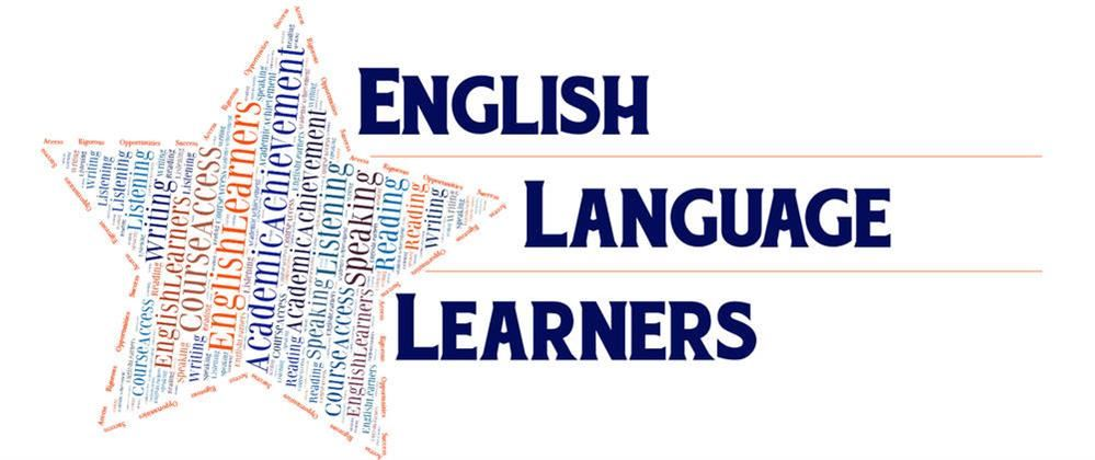 English Language Learners logo with star next to it
